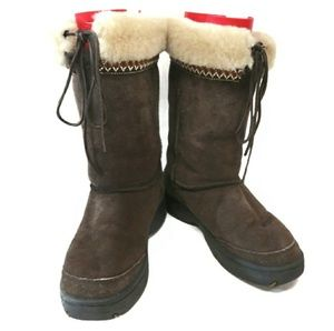 UGG Australia Ultimate Cuff Boots Chocolate Brown